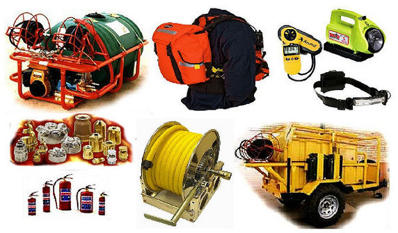 Hlatini firefighting equipment